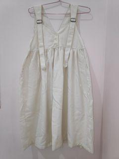 Ivory White Overall