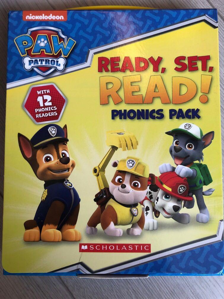 Paw patrol phonics pack