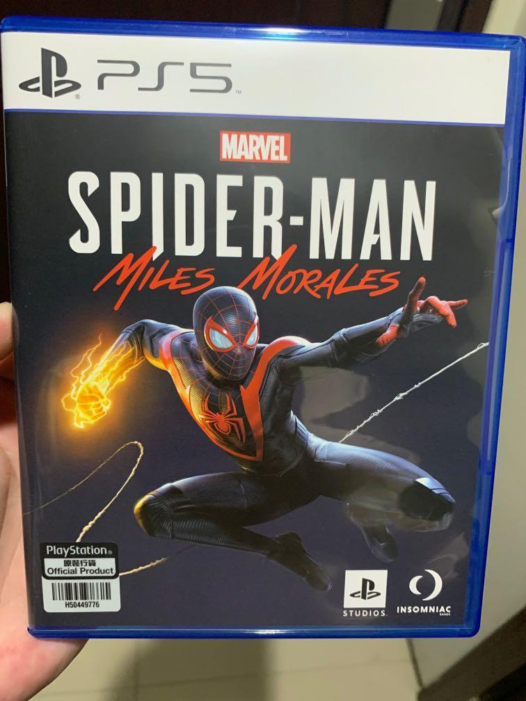 PS5 Spiderman Miles Morales