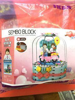 Sembo 601133 - 520 Love (not Lego)