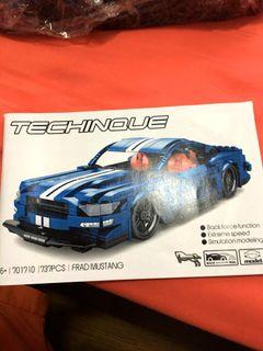 Sembo Technique 701710 - Ford Mustang (not Lego)