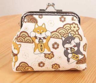 可愛柴犬口金包材料包