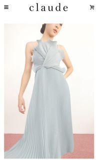Ula dress claude official dress in blue