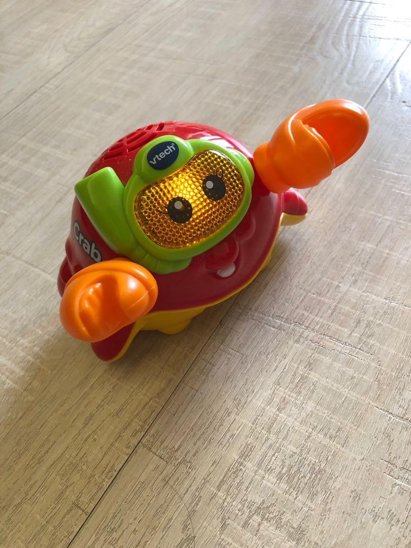 Vtech - 2合1嘟嘟戲水洗澡玩具系列-快樂螃蟹