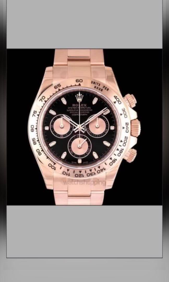 WTB Rolex Daytona 116505 Rose Gold everose