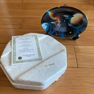 """1996 The Hamilton Collection - Star Trek """"To Boldly Go"""" limited edition Decorative Plate 星空奇遇記飾碟"""