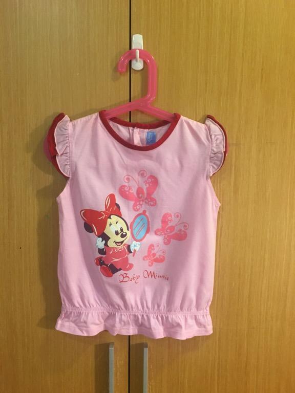 90%新4T迪士尼麗嬰房背心短袖