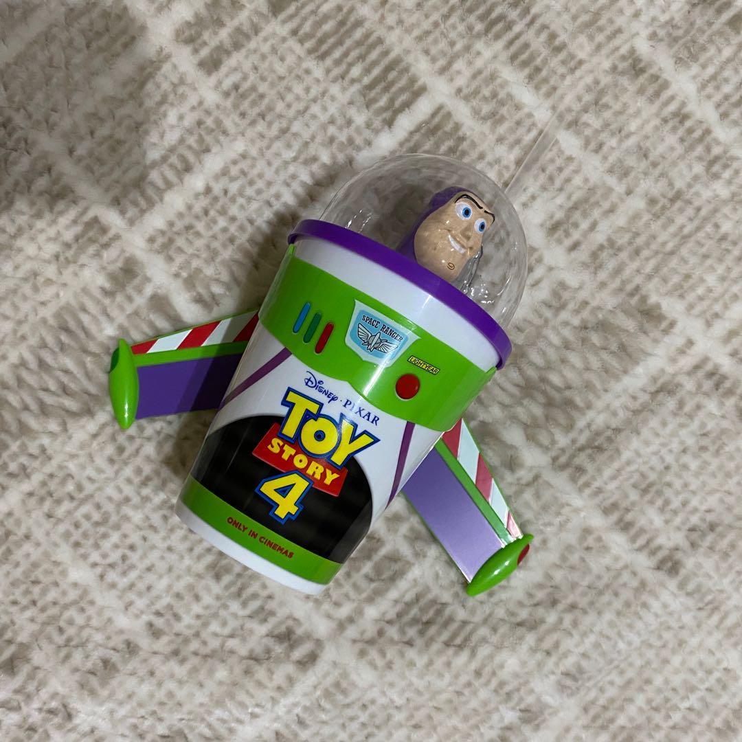 【全新正品】 《玩具總動員4》巴斯光年 造型杯/飲料杯 威秀限定