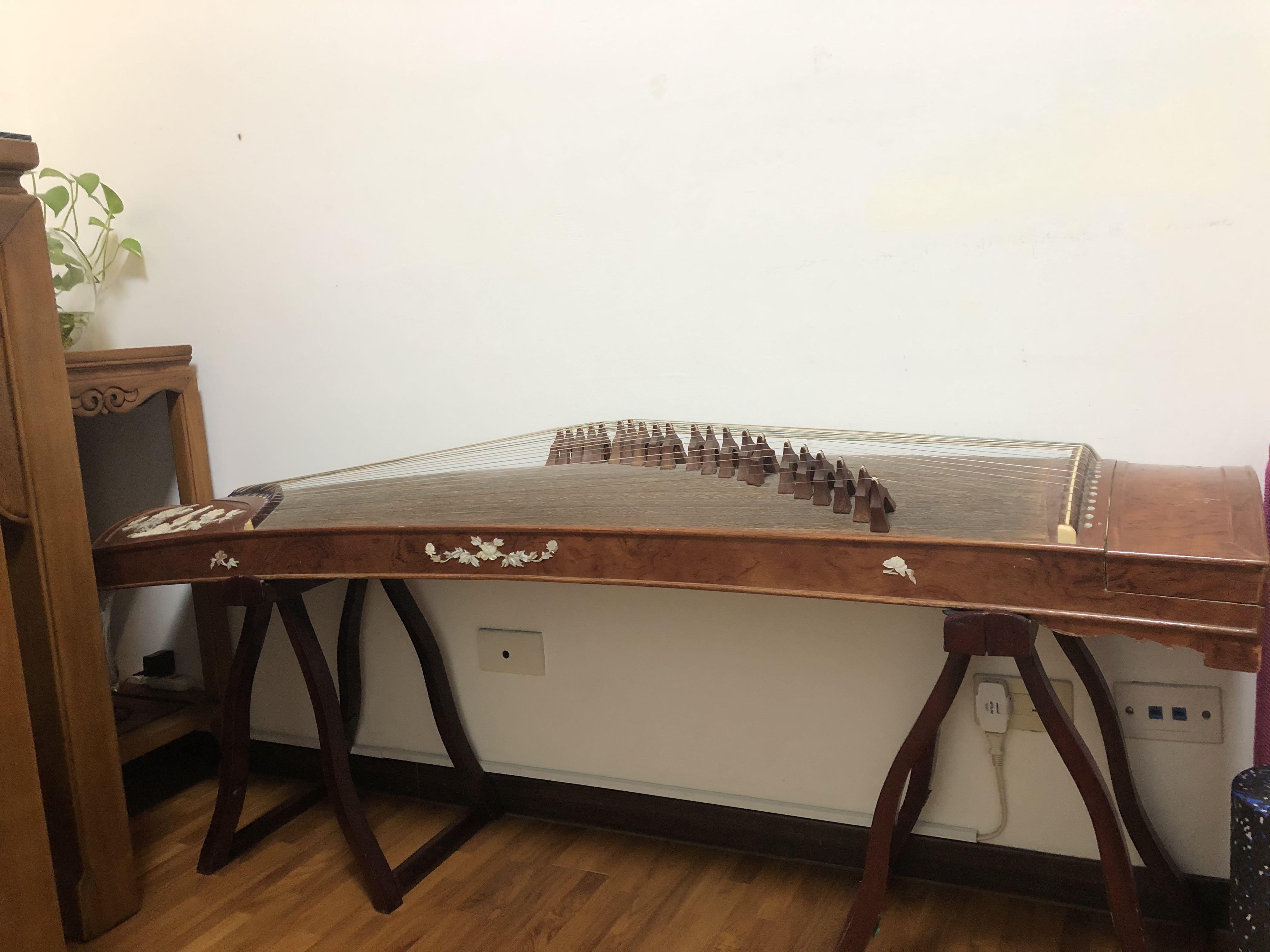 古箏  梧桐木板上品演奏琴