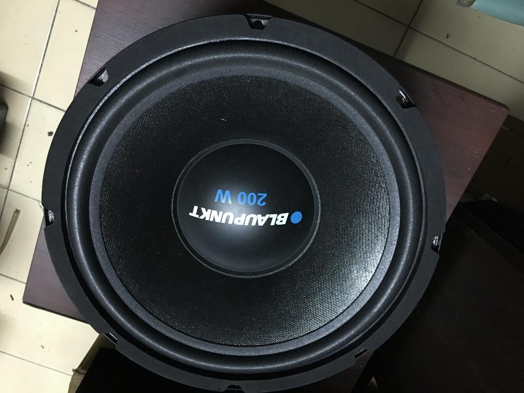 德國藍點 blaupunkt SW 130 超低音 12吋超重低音喇叭 12吋汽車喇叭單體  200W 品項極新