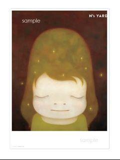 奈良美智 Yoshitomo Nara The Little Star Dweller 小星星居民 海報