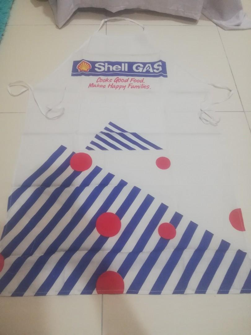 apron shell gas new old stock