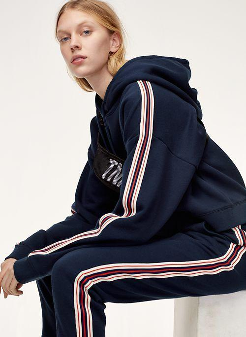 Aritzia THE ICONIC HOODIE in navy