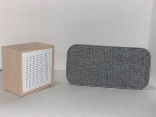 Bluetooth speakers, headphones, keyboard, GPS & mouse