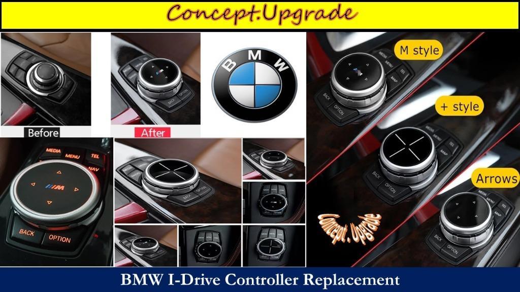 BMW BIGGER IDRIVE KNOB UPGRADE FOR MOST MODELS