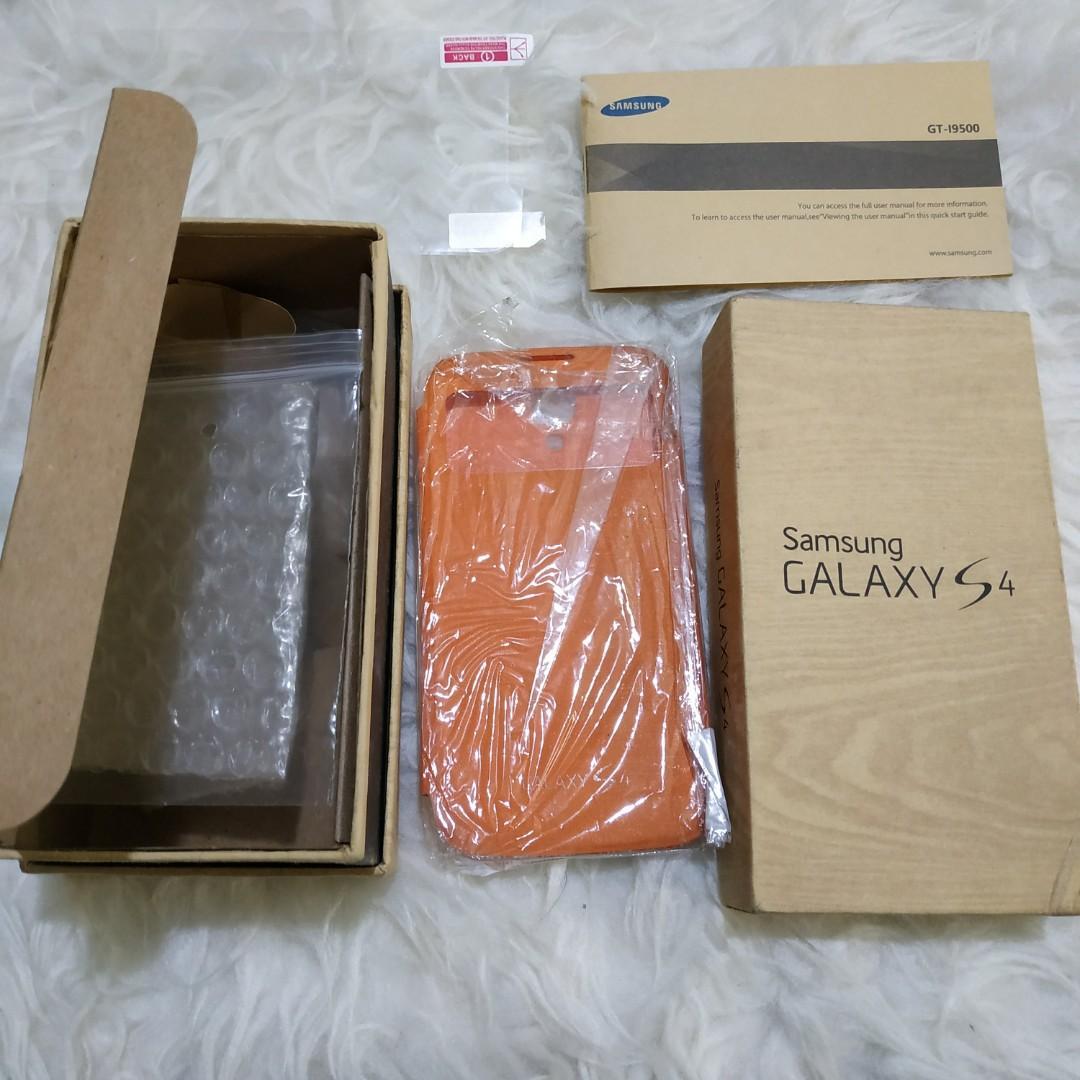 Box Samsung Galaxy S4