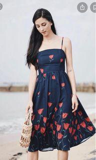 Brand new with tag MDS Erica dress in midnight florals
