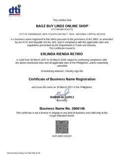 DTI Registered