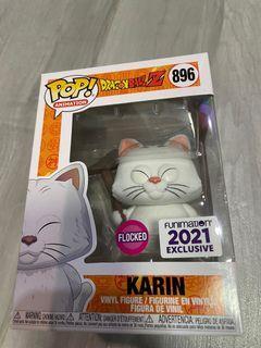 Funko Pop 貓仙人 Karin Flocked 植絨