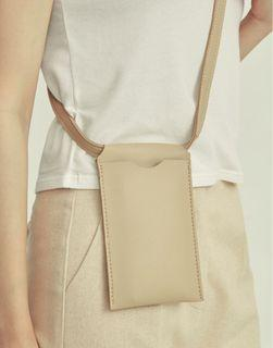 Genquo皮革手機背袋手機包