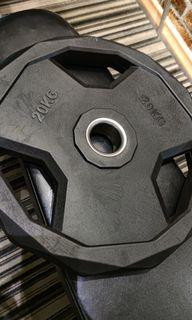 Gym weight plate