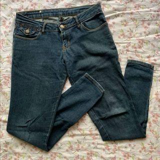 Herbench Skinny Jeans Denim Pants