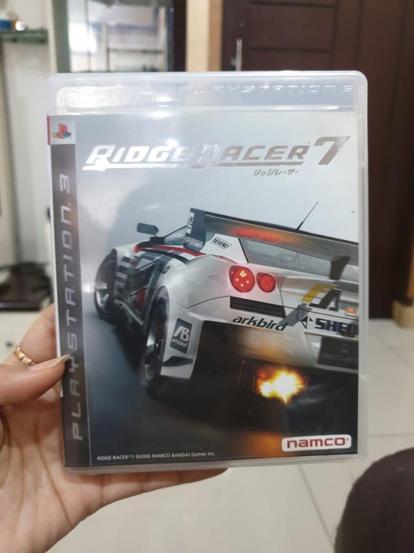 Kaset PS 3 Ridge racer 7 original