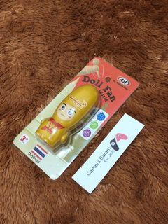 Limited Edition Portable Fan Kipas Angin Portabel A&W Restaurant Dolls