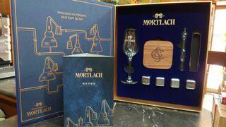 慕赫MORTLACH德國無鉛水晶Stölzle酩家珍藏組品酩組聞香杯品酒杯木杯墊不銹鋼冰塊