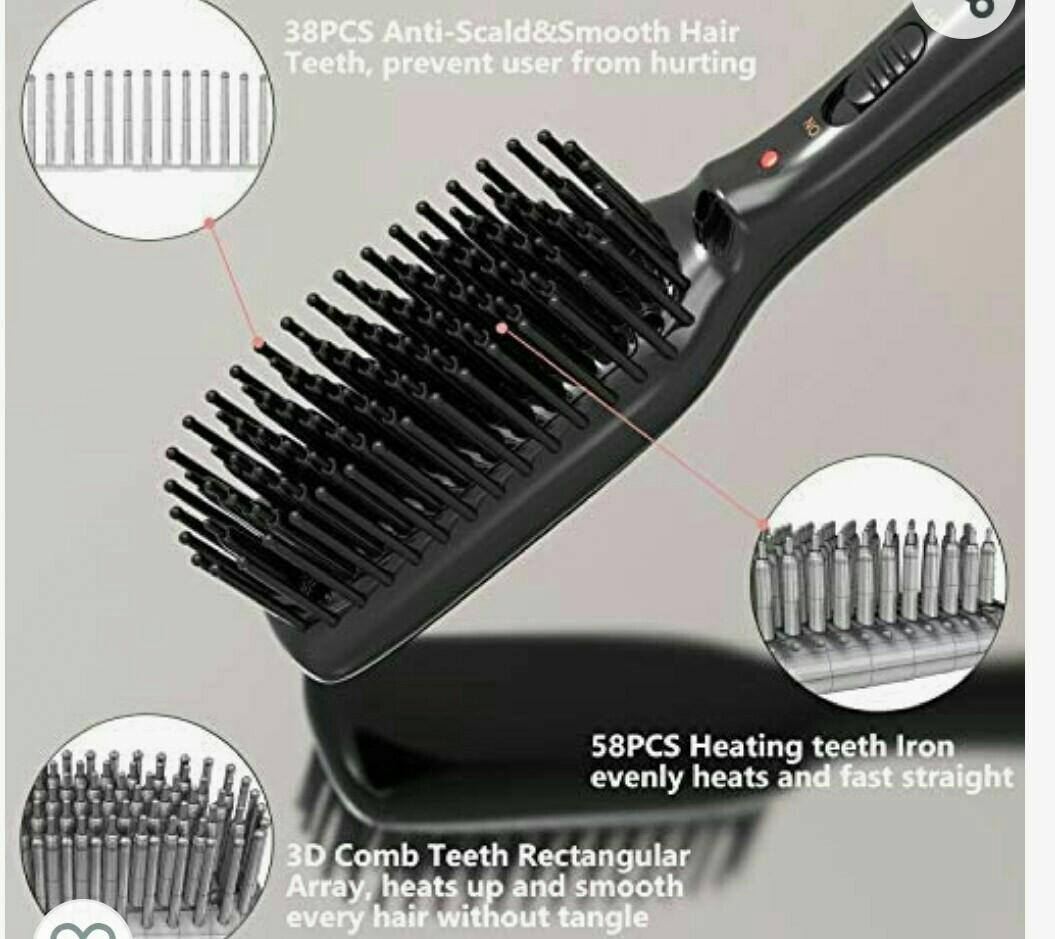 o'bella hair straightening brush