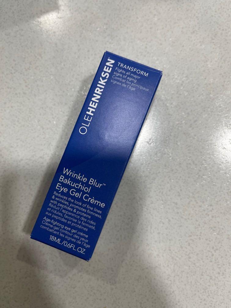 Olehenriksen wrinkle blue eye gel