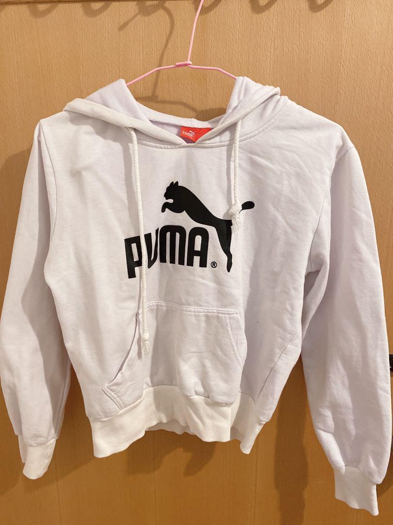 Puma女生白帽T