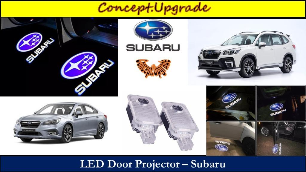 SUBARU LED DOOR PROJECTION LOGO LIGHTS