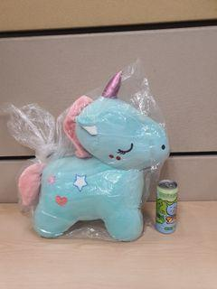 Super cute green unicorn