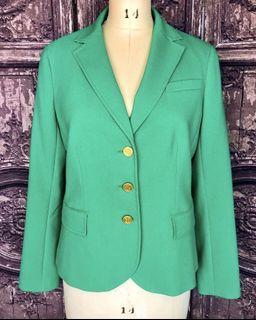 Talbots Neon Green Blazer NEW