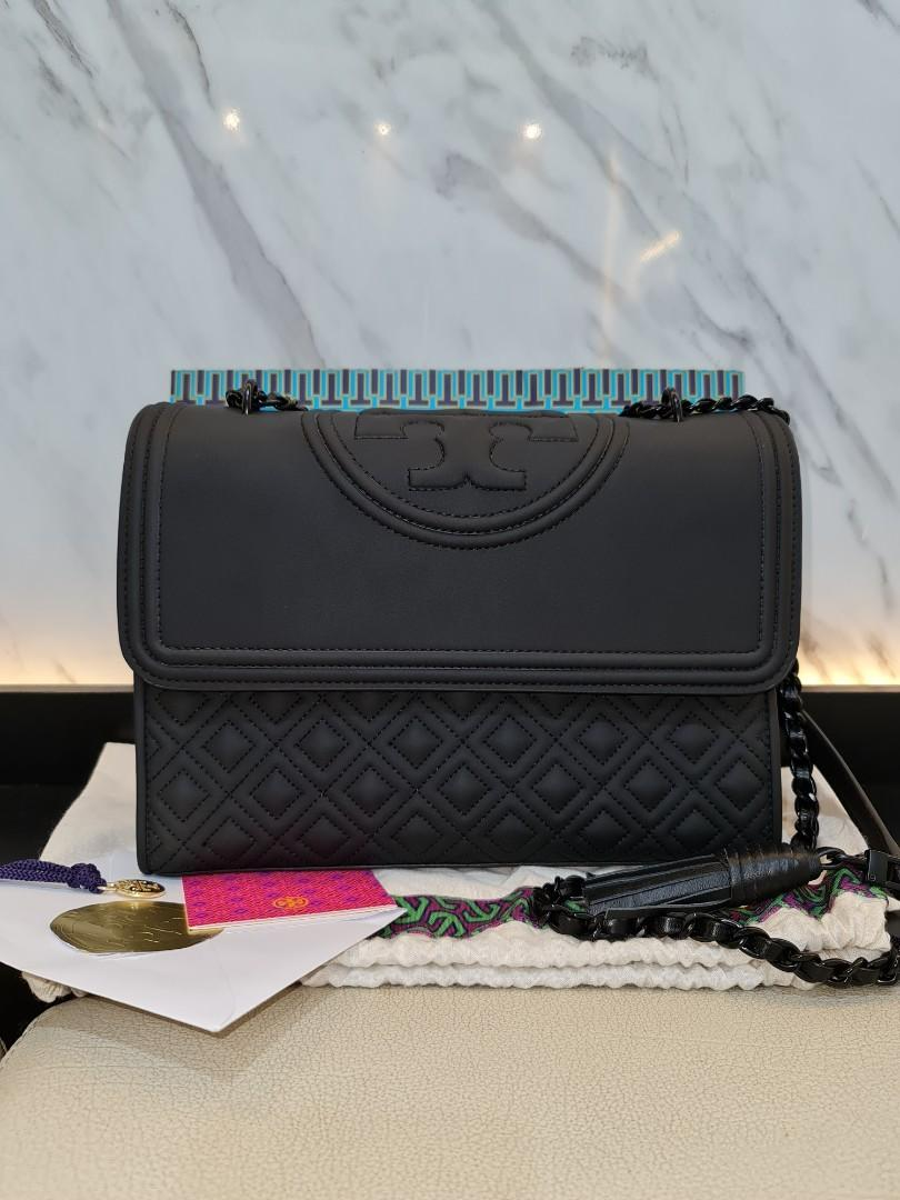 Tory Burch Fleming in Black Matte