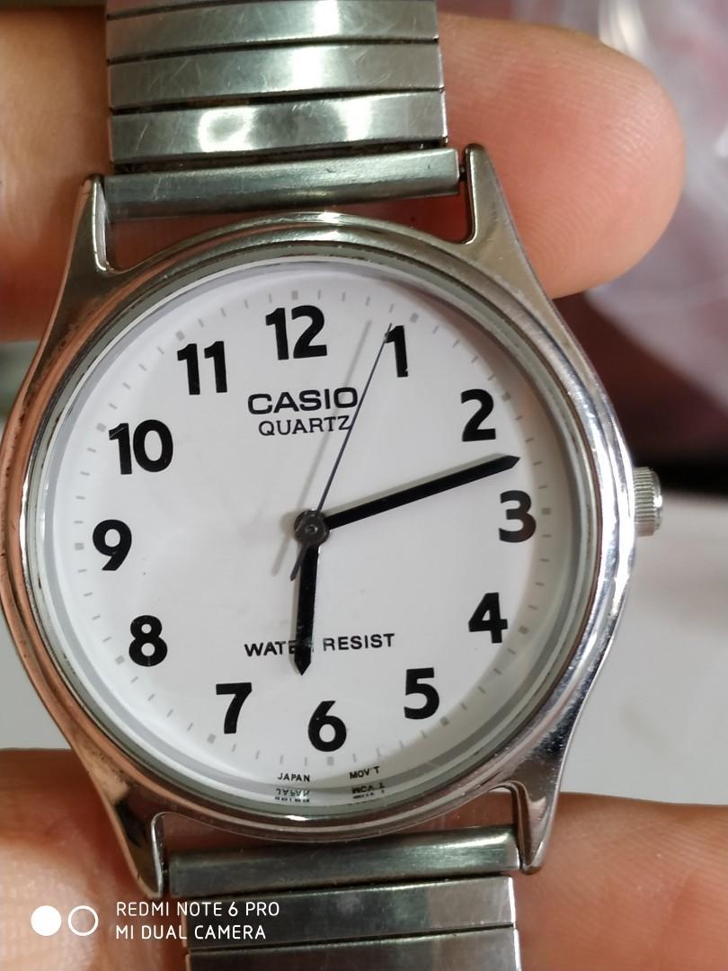 Vintage Casio gent watch japan