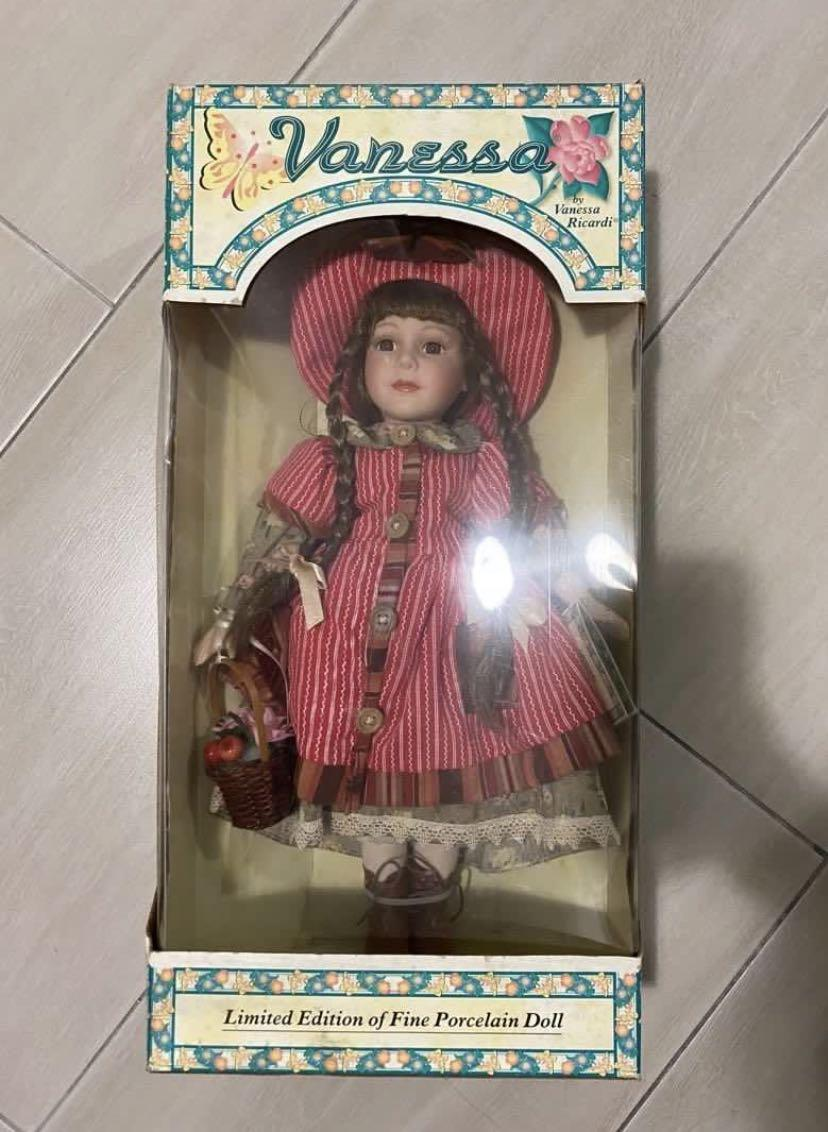 Vintage classic limited edition fine porcelain doll