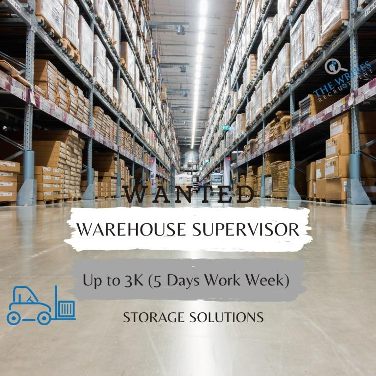 Warehouse Supervisor