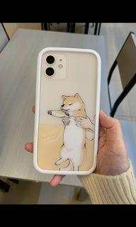 iphone 12 惡魔頓防摔二代背板(柴犬圖案)