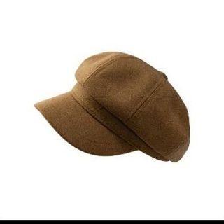 全新只試戴 zoii羊毛報童帽 咖啡色