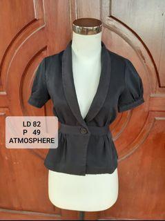 Atmosphere black blazer #Diskonlebaran