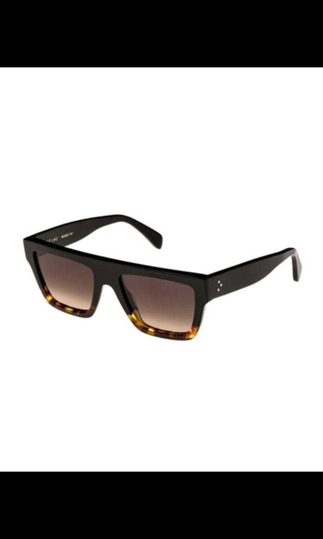 Authentic Celine flat-top sunglasses