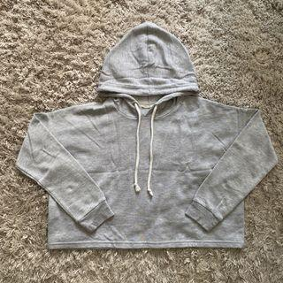 Bluenotes Grey Hooded Top