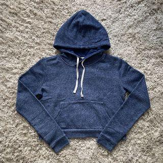 Forever 21 Blue Hooded Top