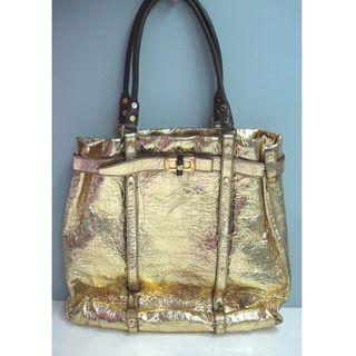 Lanvin Gold Big Tote Bag