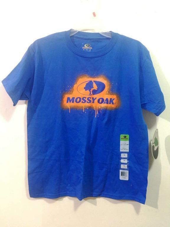 Mossy Oak Youth Cotton T-Shirt (Size Youth L)
