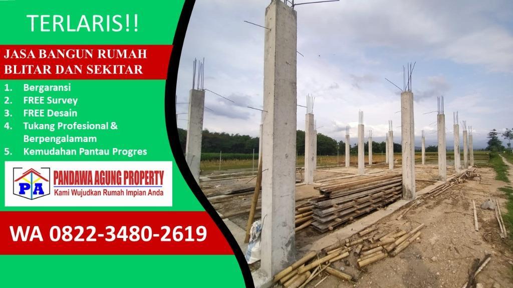 PROMO   0822-3480-2619   Jasa Bangun Rumah Terdekat di Blitar, PANDAWA AGUNG PROPERTY
