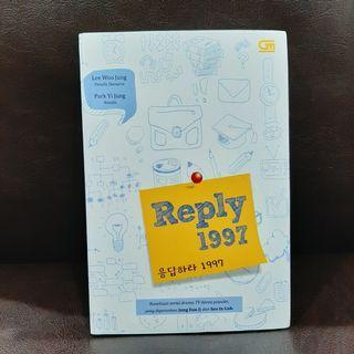 Reply 1997 - Lee Woo Jung & Park Ji Yung - Novel Terjemahan Adaptasi Serial Drama TV Korea (ori, baru, segel plastik) #bersihmaret