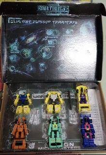 Transformers Micron Micromasters Galactic Odyssey Collection